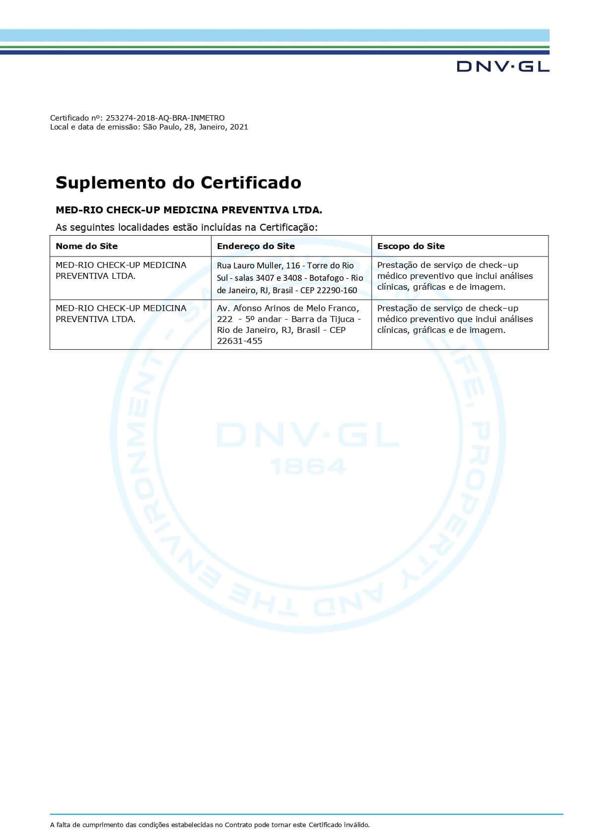Certificado ISO-9001:2015